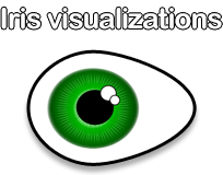 Iris visualisations