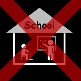 Afbeeldingsresultaat voor picto geen school