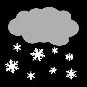 Sneeuw Kleurplaat Sclera Pictogrammes