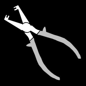 striptang / draadstriptang